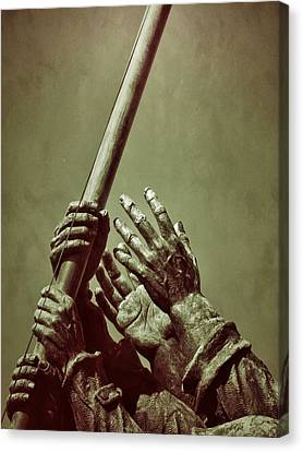 Hands Of Our Fathers Canvas Print