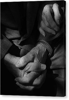 Hands Of Time Canvas Print by Steven Milner