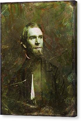 Handsome Fellow 2 Canvas Print by James W Johnson