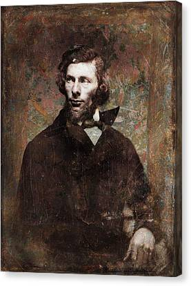 Handsome Fellow 4 Canvas Print by James W Johnson