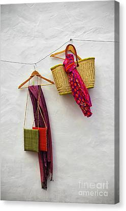Hanging Handicraft  Canvas Print by Carlos Caetano