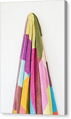 Hanging Towel Canvas Print by Tom Gowanlock