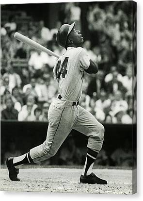 Hank Aaron Canvas Print