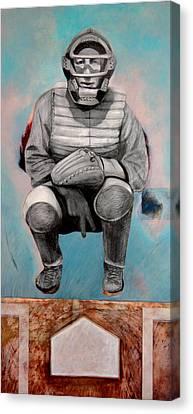 Hank Canvas Print by Michael Pittman