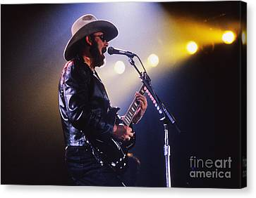 Art Print Poster Holding a Microphone Canvas Hank Williams Jr