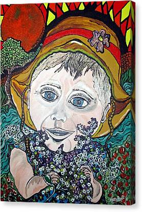 Hannah Canvas Print by Matthew  James