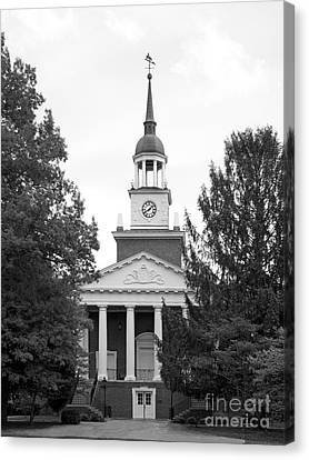 Hanover College Parker Auditorium Canvas Print by University Icons