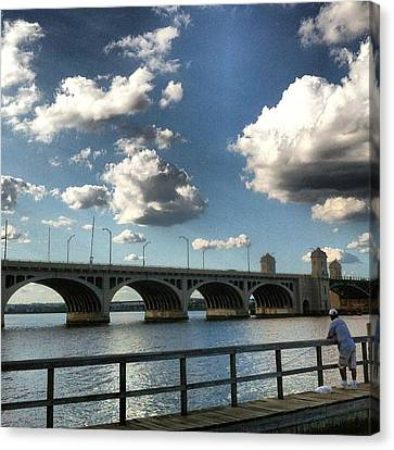 Hanover Street Bridge Canvas Print by Toni Martsoukos