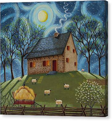 Hans Herr House Canvas Print