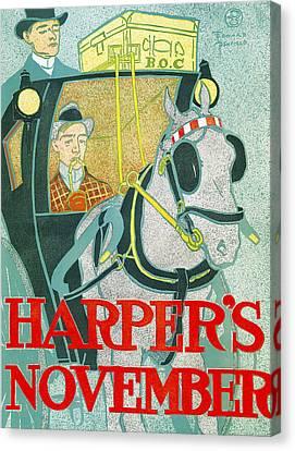 Hapers November Canvas Print