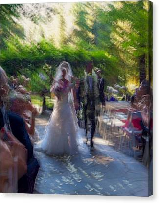 Canvas Print featuring the photograph Happily Ever After by Alex Lapidus