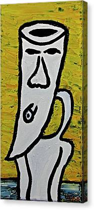 Happiness 12-003 Canvas Print by Mario Perron