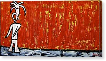 Happiness 12-007 Canvas Print by Mario Perron