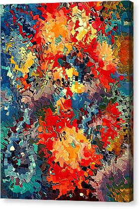 Happiness By Rafi Talby Canvas Print by Rafi Talby