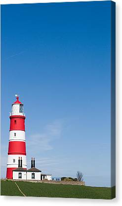 Happisburgh Lighthouse Canvas Print by Paul Lilley