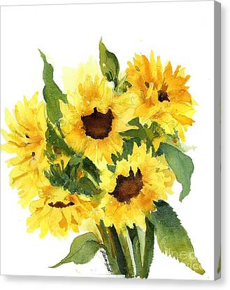You Are My Sunshine Canvas Print by Maria Hunt