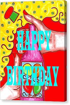 Happy Birthday 1 Canvas Print by Patrick J Murphy