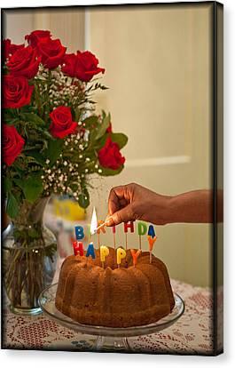 Canvas Print - Happy Birthday  by Harold E McCray