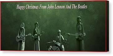 Happy Christmas From John Lennon Canvas Print