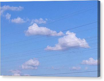 Happy Cloud Day Canvas Print