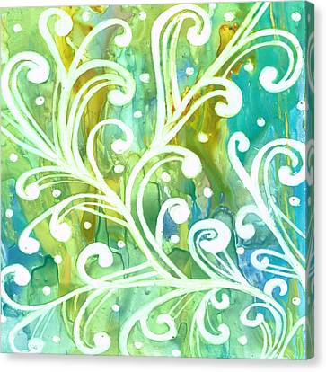Happy Dance Canvas Print by Rosie Brown