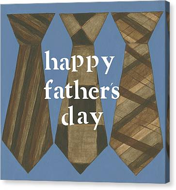 Happy Father's Day Canvas Print by Cindy Shamp
