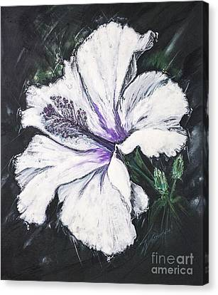 Happy Hibiscus Canvas Print by Scott and Dixie Wiley