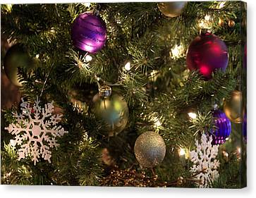 Canvas Print featuring the photograph Happy Holidays by Patricia Babbitt