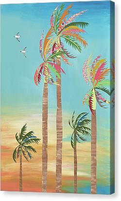 Happy Hour Canvas Print by Jennifer Peck