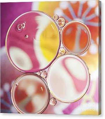 Sphere Canvas Print - Happy Inside by Jan Bickerton
