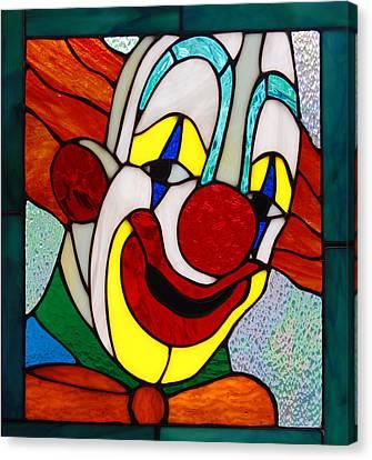 Happy Canvas Print by Keith Hawley