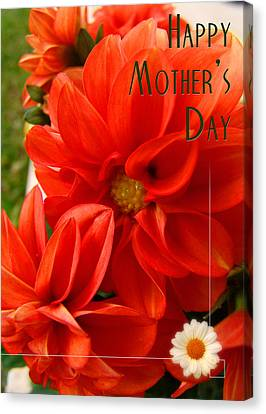 Happy Mother's Day 01 Canvas Print