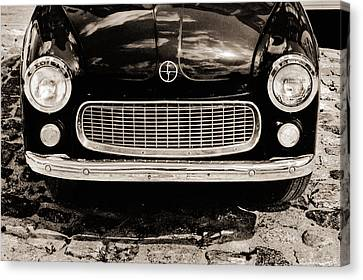 Happy Old Car Canvas Print