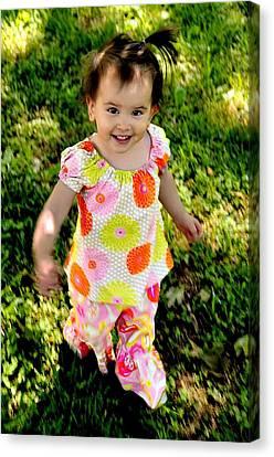 Happy Smiles Fine Art Print Canvas Print
