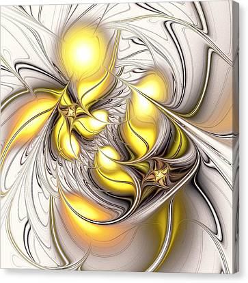 Happy Yellow Canvas Print