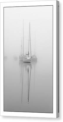 Harbor Fog No.1 Canvas Print