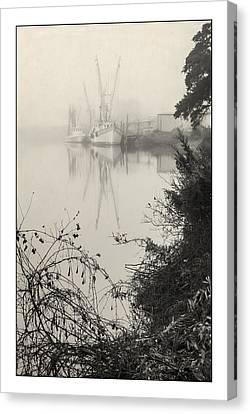 Harbor Fog No.3 Canvas Print