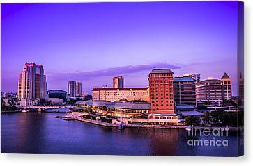 Harbor Island Canvas Print by Marvin Spates