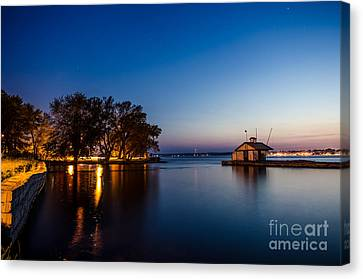 Harbor Master  Canvas Print