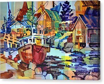 Harbor Glow Canvas Print
