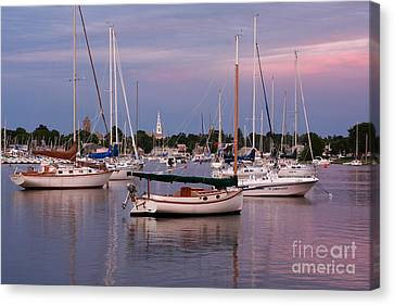 Harbor View Canvas Print