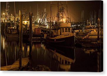 Harbor Walk Canvas Print by Melissa Stramel Hunt