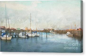 Harbor Morning Canvas Print