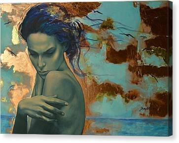 Sadness Canvas Print - Harboring Dreams by Dorina  Costras