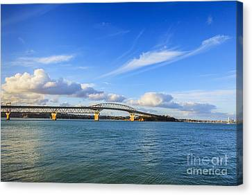 Auckland Canvas Print - Harbour Bridge Auckland New Zealand by Colin and Linda McKie