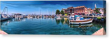 Harbour Life Izola Canvas Print