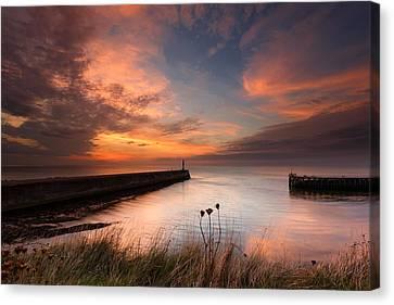 Harbour Sunset Canvas Print by Izzy Standbridge