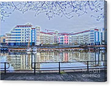 Harbourside Flats Canvas Print