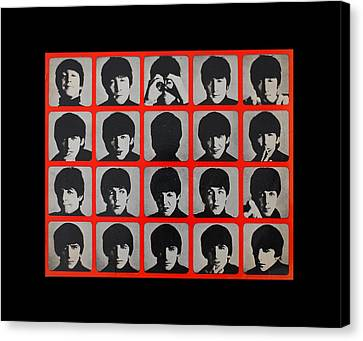 Mosaic Canvas Print - Hard Days Night by Gina Dsgn
