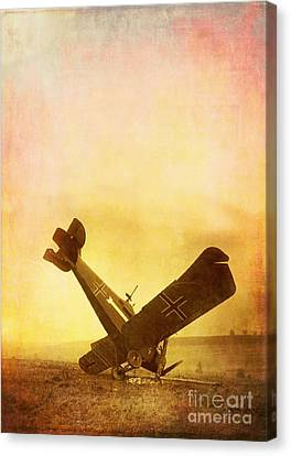 Hard Landing Canvas Print by Edward Fielding